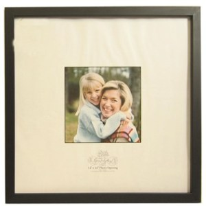 Frame - $9.99 - use a 40% off coupon (or catch them while they're on sale) = $6.00 per frame!