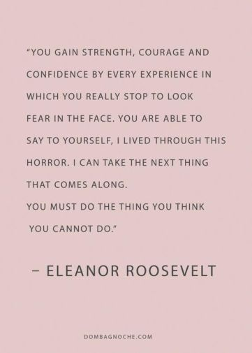 Courage by Roosevelt
